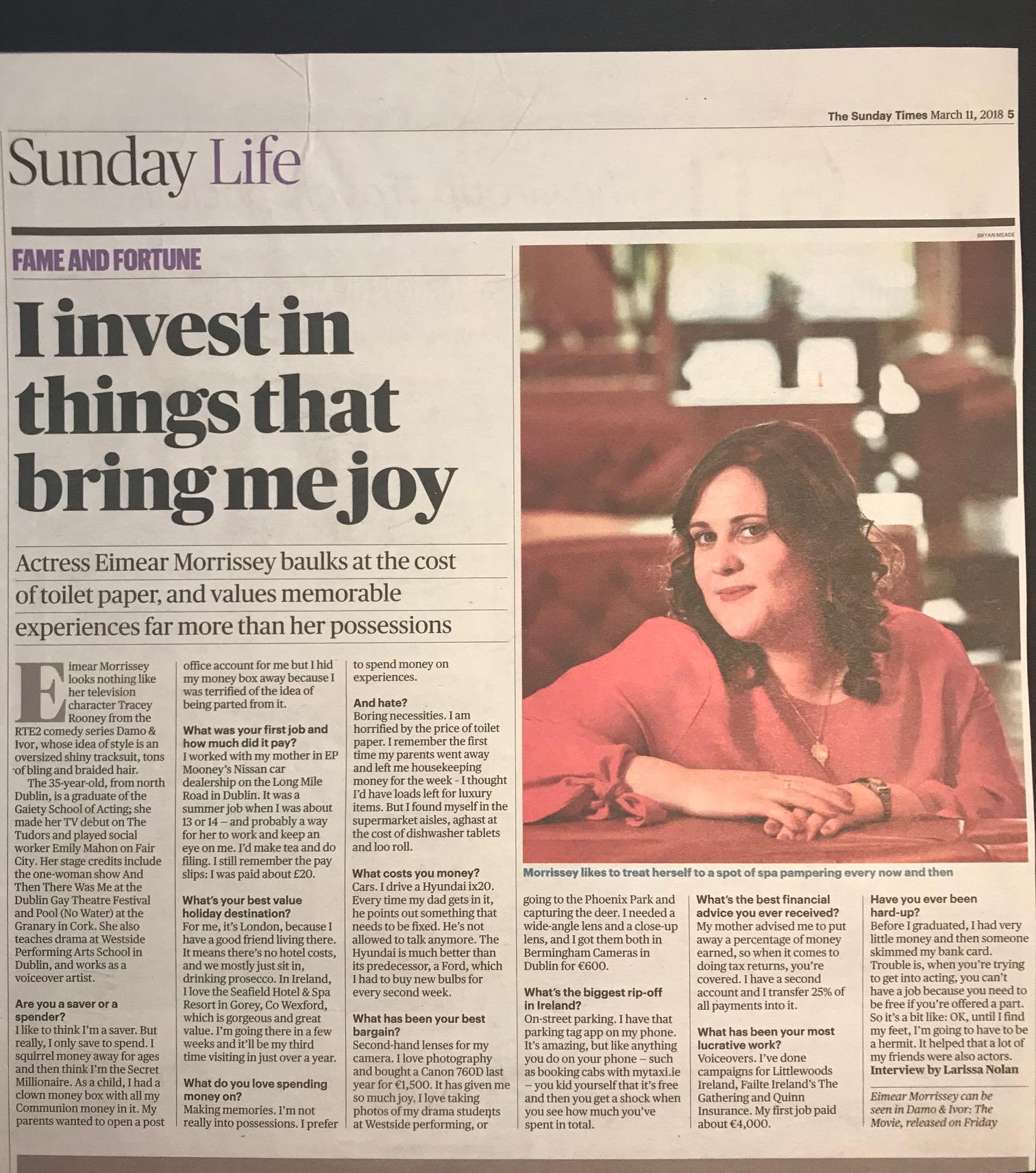 EM Sunday Times